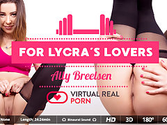 Ally Breelsen in For lycra's lovers - VirtualRealPorn