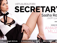 Juan Lucho  Sasha Rose in Secretary - VirtualRealPorn