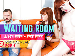 Adam Black  Alexa Nova in Waiting Room - VirtualRealPorn