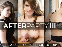 Andy Stone  Lucia Love in After Party  - VirtualRealPorn