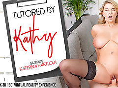 Katerina Hartlova in Tutored by Kathy - VRBangers