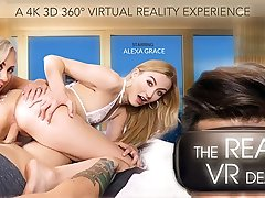 Alexa Grace  Brandi Love in The real VR Deal - VRBangers