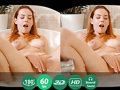 Candy Red in Soapy Masturbation In A Bath - TMWVRNet