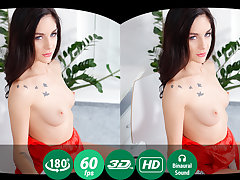 Lullu Gun in A Hot-Tempered Brunette Studies Solo Fucking In Vr - TMWVRNet