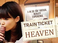 Suzumiya Kotone in Train Ticket to Heaven - VRBangers