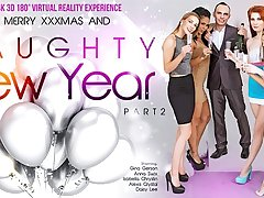 Alexis Crystal  Anna Swix  Daisy Lee  Gina Gerson  Isabella Chrystin in Naughty New Year вt part 2 - VRBangers