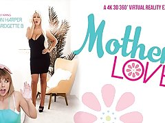 Bridgette B  Dillion Harper in Motherly Love - VRBangers