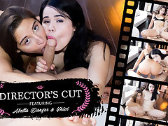 Abella Danger  Yhivi in Director's Cut - WankzVR