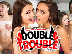 Adria Rae  Jaye Summers in Double Trouble - WankzVR
