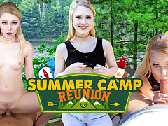 Lily Rader in Summer Camp Reunion - WankzVR