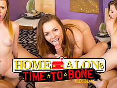 Alex Blake in Home Alone, Time to Bone - WankzVR