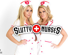 Jessa Rhodes  Madelyn Monroe in Slutty Nurses - WankzVR