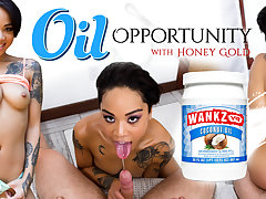 Honey Gold in Oil Opportunity - WankzVR