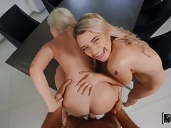 Blondes love a complying splash on their complexion after sharing unearth hard