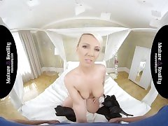 MatureReality - StepMom takes a Big One