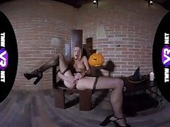 TmwVRnet - Alexis Crystal - Special Sex Treat for Halloween!