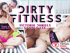 George Lee  Victoria Daniels in Dirty fitness - VirtualRealPorn